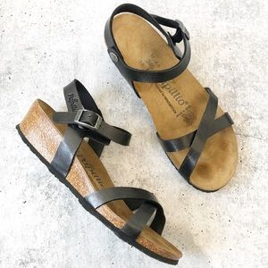 Birkenstock Papillio Cork Wedge Sandals
